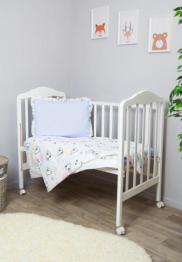 Детское постельное бельё в кроватку Конфетти 3 предмета  фото