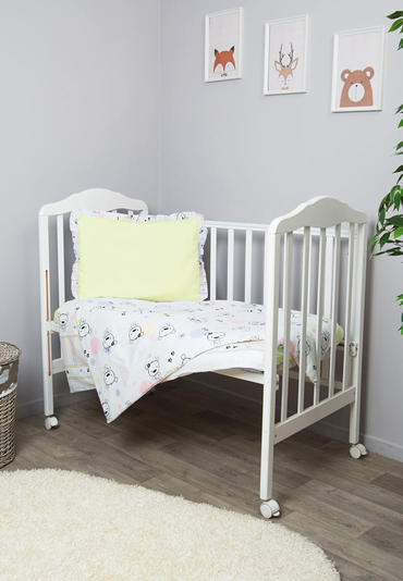 Постельное бельё в кроватку Конфетти 3 предмета фото