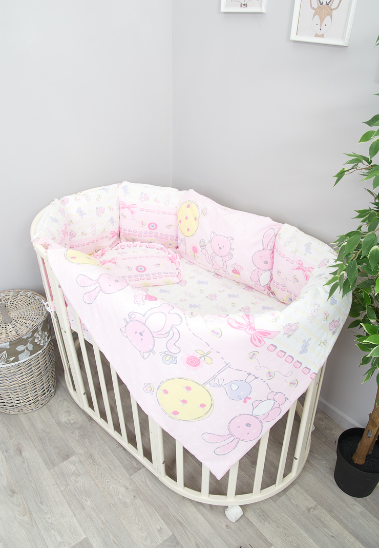 Постельное белье Акварель розовое фото 1