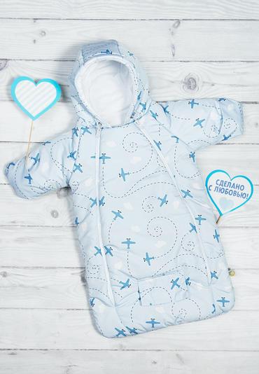 Комбинезон для новорожденного Маленький пилот фото