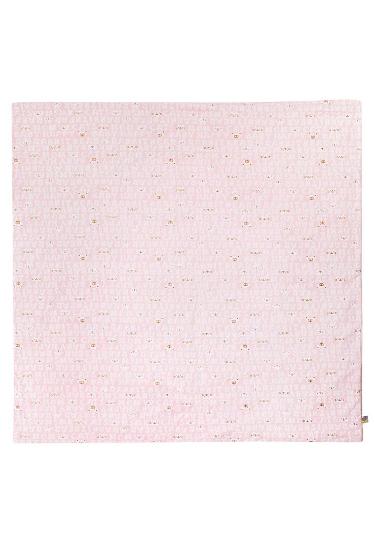 Утепленный плед Мармеладик клубника со сливками фото