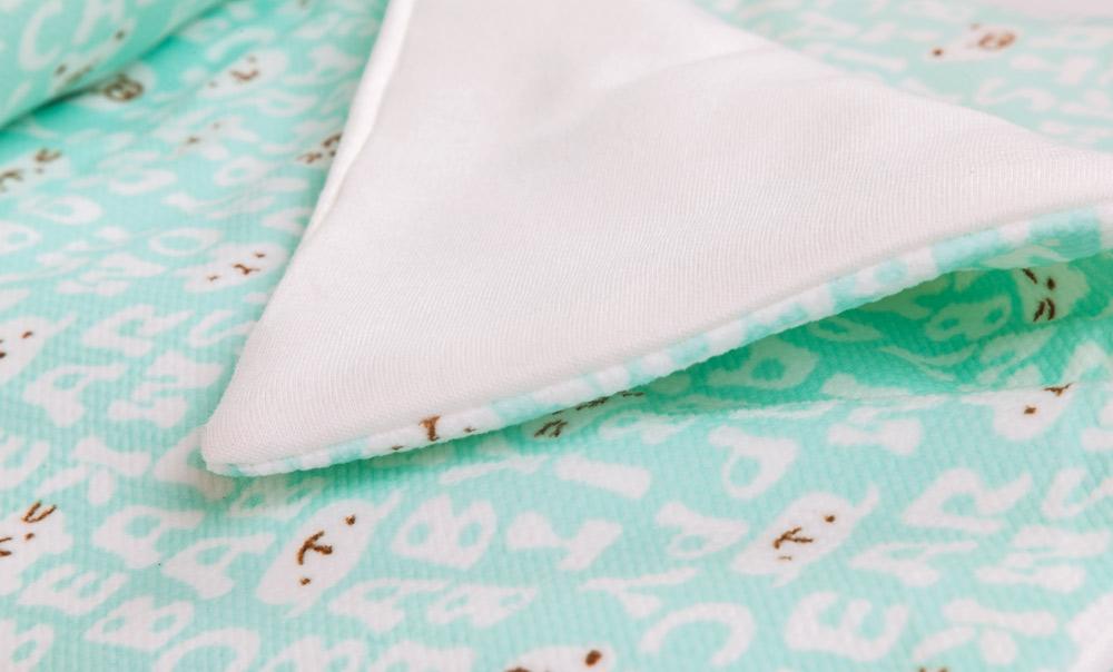Плюшевый плед Мармеладик зеленый фото