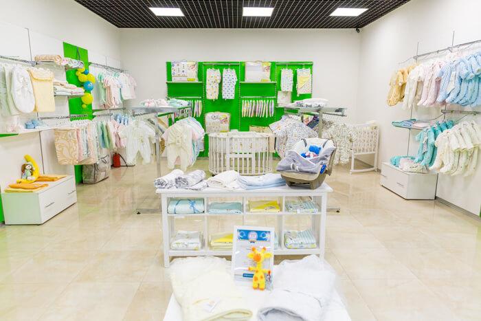 Детский магазин одежды в ТРЦ BabyStore фото